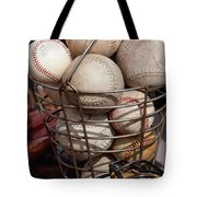Sports - Baseballs And Softballs Tote Bag by Art Block Collections