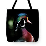 Spotlight Wood Duck Tote Bag by Steve McKinzie