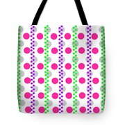 Spotty Stripe Tote Bag by Louisa Hereford