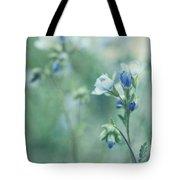 Spring Blues Tote Bag by Priska Wettstein