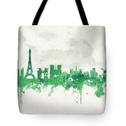 Spring In Paris France Tote Bag by Aged Pixel