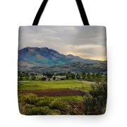 Spring Time In The Valley Tote Bag by Robert Bales