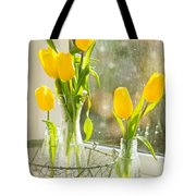 Spring Tulips Tote Bag by Amanda And Christopher Elwell