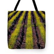 Spring Vinyards Tote Bag by Garry Gay