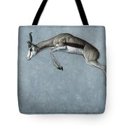 Springbok Tote Bag by James W Johnson