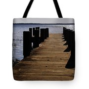 St Johns River FLorida - A chain of lakes Tote Bag by Christine Till