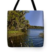 St Johns River Florida Tote Bag by Christine Till