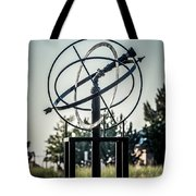 St. Joseph Whirlpool Compass Fountain Water Cannon Tote Bag by Paul Velgos