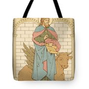 St Luke the Evangelist Tote Bag by English School