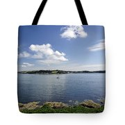 St Mawes From Pendennis Point Tote Bag by Rod Johnson