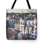St Nicholas Prague Tote Bag by Joan Carroll