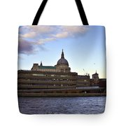 St Paul's Cathedral London Tote Bag by Terri  Waters
