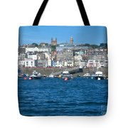 St Peters Port Guernsey  Tote Bag by Phyllis Kaltenbach