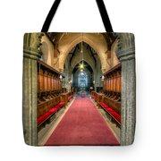 St Twrog Church Tote Bag by Adrian Evans