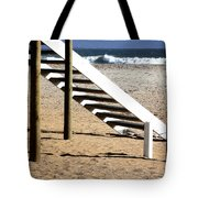 Stairway to summer  Tote Bag by A Rey