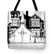 Stamps  Tote Bag by Vicky  Hutton