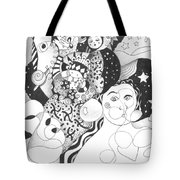 Standing On Solid Ground Tote Bag by Helena Tiainen