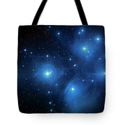 Star Cluster Pleiades Seven Sisters Tote Bag by The  Vault - Jennifer Rondinelli Reilly