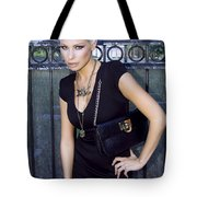 Star Gate Seduction Palm Springs Tote Bag by William Dey