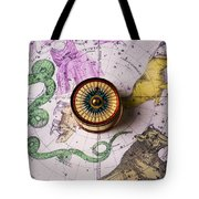Star Map Tote Bag by Garry Gay