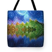 Starfall Tote Bag by First Star Art