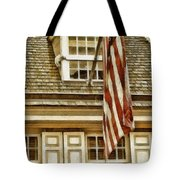 Stars and Stripes Tote Bag by Mo T
