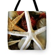 Stars Of The Sea Tote Bag by Colleen Kammerer