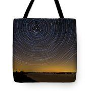 Startrails 3 Tote Bag by Benjamin Reed