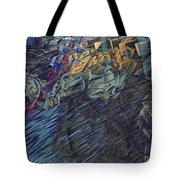 States of Mind    Those Who Go Tote Bag by Umberto Boccioni