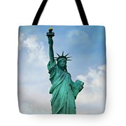 Statue Of Liberty Tote Bag by Stephen Stookey