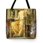 Statue Of Zeus At Oympia Tote Bag by English School