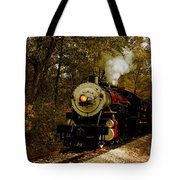 Steam Engine No. 300 Tote Bag by Robert Frederick