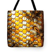 Steampunk - Apiary - The hive Tote Bag by Mike Savad