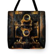 Steampunk - Electrical - The Power Meter Tote Bag by Mike Savad