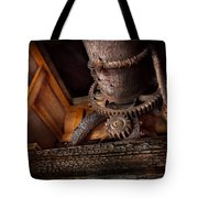 Steampunk - Gear - Out Of Order  Tote Bag by Mike Savad