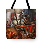 Steampunk - My Transportation Device Tote Bag by Mike Savad