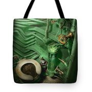 Steampunk - Naval - Plumbing - The Head Tote Bag by Mike Savad