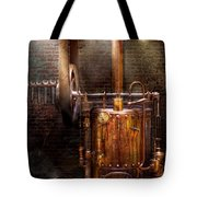 Steampunk - Powering The Modern Home Tote Bag by Mike Savad