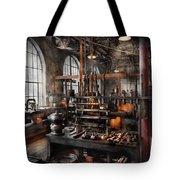 Steampunk - Room - Steampunk Studio Tote Bag by Mike Savad