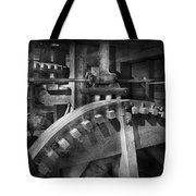 Steampunk - Runs Like Clockwork Tote Bag by Mike Savad