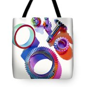 Steel Gears Tote Bag by Erich Schrempp