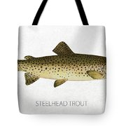 Steelhead Trout Tote Bag by Aged Pixel