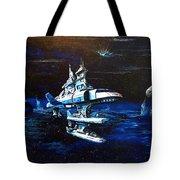 Stellar Cruiser Tote Bag by Murphy Elliott