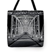 Step Under The Steel Tote Bag by CJ Schmit