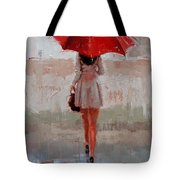 Stepping Out Tote Bag by Laura Lee Zanghetti