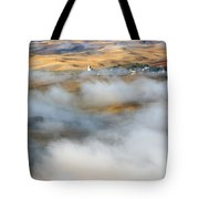 Steptoe Fog Clearing Tote Bag by Mike  Dawson