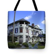 Stetson Mansion Tote Bag by Laurie Perry