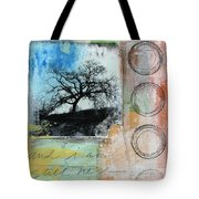 Still Here Tote Bag by Linda Woods