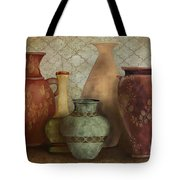 Still Life-a Tote Bag by Jean Plout