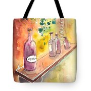 Still Life In Chianti In Italy Tote Bag by Miki De Goodaboom